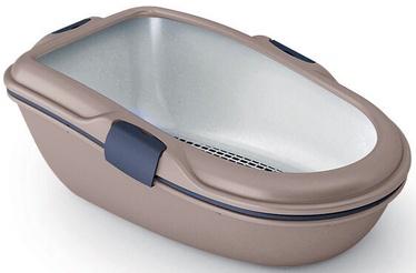 Кошачий туалет Zolux Furba Chic Maxi Grey, 695x470x260 мм