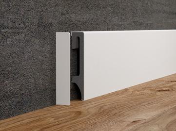 Dažomoji grindjuostė ESP201, 2500 x 80 x 16 mm