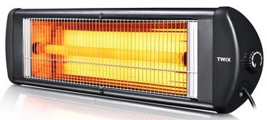 Kumtel Quartz Infrared Heater EX-23 Twix Black