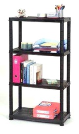 Sandėliavimo lentyna Primo, 61 x 30,5 x 130 cm, 4 lentynos
