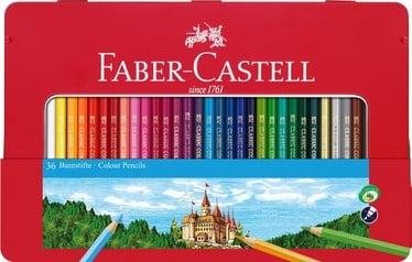 Цветные карандаши Faber Castell Colour Hexagonal, 36 шт.