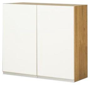 Ülemine köögikapp Bodzio Monia 80 White/Brown, 800x310x720 mm