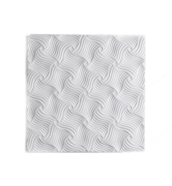 Format Lagom Format Tape Ceiling Panels 50x50x1cm White