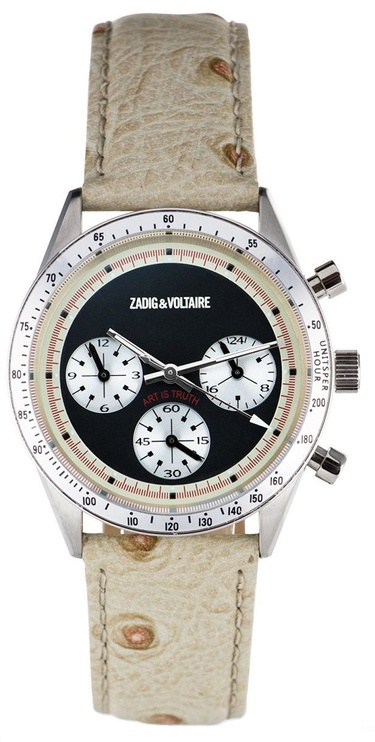 Zadig & Voltaire ZVM104 Unisex Watch Analogue Display and Leather Strap