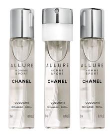 Chanel Allure Homme Sport Refill 3x20ml EDC