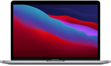 Nešiojamas kompiuteris Apple MacBook Pro Retina with Touch Bar Space Grey M1, 8GB/512GB, 13.3""