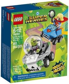 Конструктор LEGO Super Heroes Mighty Micros: Supergirl vs. Brainiac 76094 76094, 80 шт.