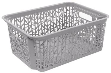 BranQ Basket Bamboo Gray