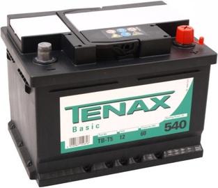 Аккумулятор Tenax Basic, 12 В, 60 Ач, 540 а