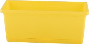 Taimekast Rimini 25cm kollane