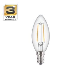 SPULDZE LED FIL B35 3W E14 WW CL ND 250L (STANDART)