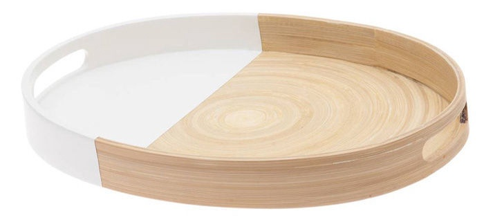 Verners Oval Bamboo Tray 4x26x35cm