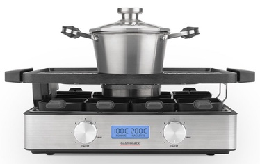 Gastroback Design Raclette Fondue Advanced 42561 Inox
