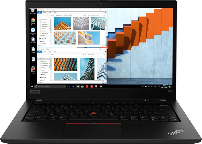 Lenovo ThinkPad T490 Black 20N2000SMX