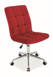 Biroja krēsls Signal Meble Q-020 Burgundy