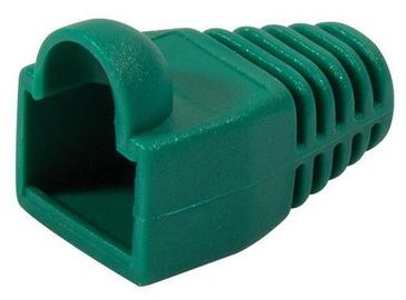 LogiLink Strain Relief Hoods For Modular Plugs x 100 Green