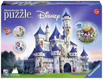 Dėlionė Ravensburger 3D Puzzle Disney Castle 216pcs 125876