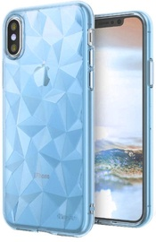 Blun 3D Prism Shape Back Case For Apple iPhone X/XS Blue