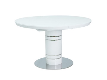 Signal Meble Stratos Expendable Table 120/160cm White