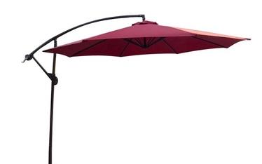 Садовый зонтик Domoletti Garden,темно красный, 3 m