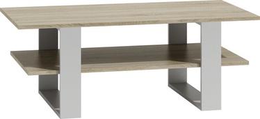 Kavos staliukas Top E Shop Martyna Sonoma Oak/White, 1200x600x550 mm