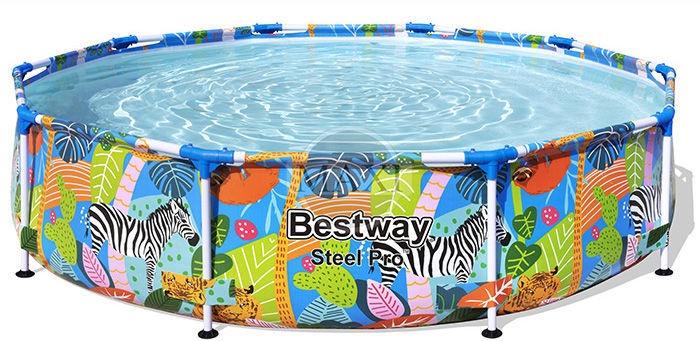 Bassein Bestway 380033, mitmevärviline, 3050x660 mm, 4062 l
