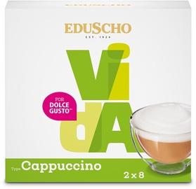 Eduscho Vida Dolce Gusto Cappuccino 16 Capsules