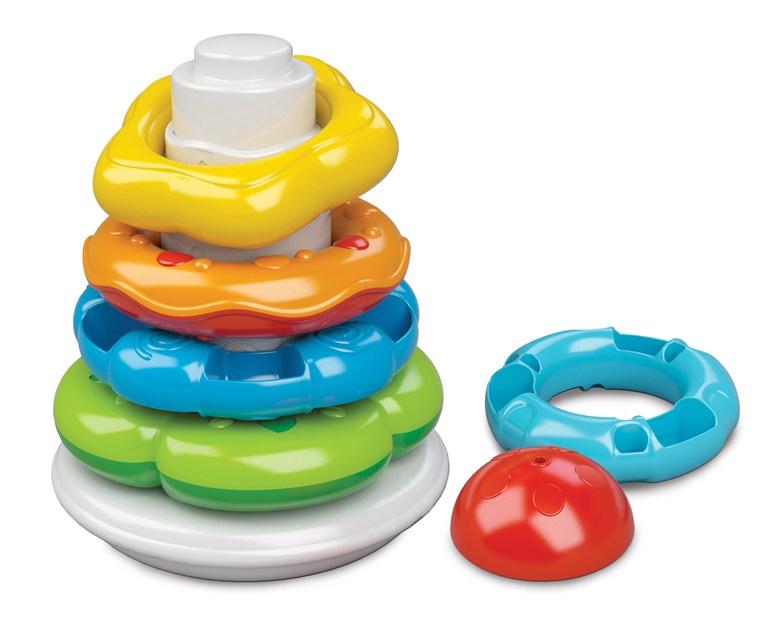 Lavinamasis žaislas Clementoni Baby Stacking Rings 17103