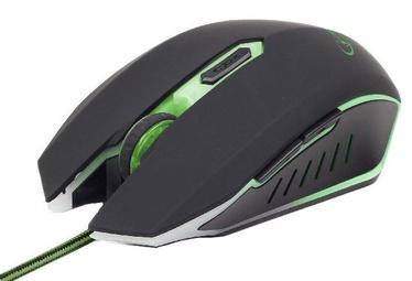 Gembird MUSG-001 Gaming Mouse Black/Green