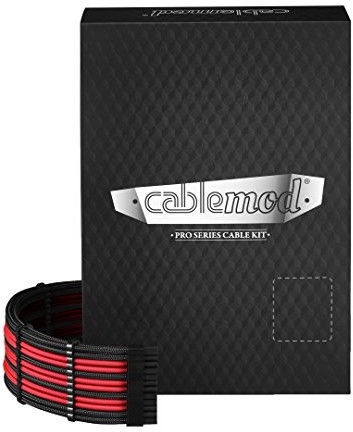 CableMod E-Series PRO ModMesh Cable Kit For EVGA G3/G2/P2/T2 Black/Red