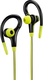Canyon CNS-SEP2 Wired Sport Earphones Lime