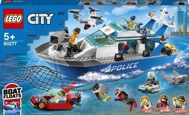 Konstruktor LEGO City Politsei patrullpaat 60277, 276 tk