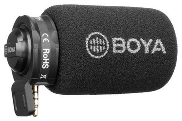 Boya BY-A7H Smartphone 3.5mm Microphone