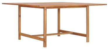 Садовый стол 49008, коричневый