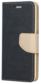 TakeMe Fancy Diary Bookstand Case Samsung Galaxy J6 Plus J610 Black/Gold