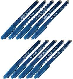 Bradley Erasable Ink Pen Blue 10pcs