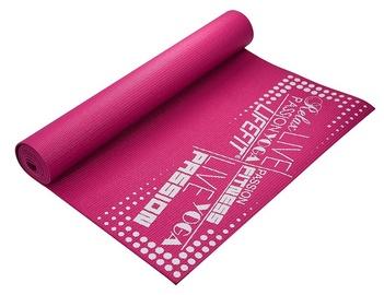 Lifefit Yoga Mat 1730x610x4mm Pink