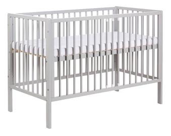 Vaikiška lova Klups Radek X Grey, 120x60 cm