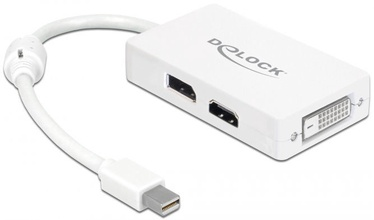Delock Adapter Mini Displayport M To Displayport / DVI / HDMI F 61768