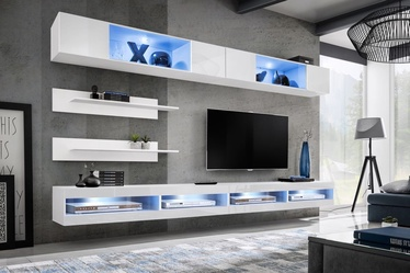 ASM Fly T3 Living Room Wall Unit Set White