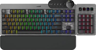 Клавиатура Mountain Everest Max Gaming Cherry MX Blue EN, серый