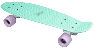 N Rules Fun Skateboard Mint Purple