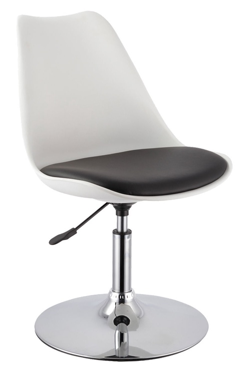 Home4you Aron Bar Stool Black/White