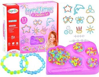 Apyrankių gaminimo rinkinys Crystal Tattoos & Jewellery Set