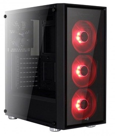 Aerocool Quartz Red Midi-Tower Black