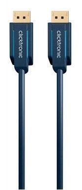 Clicktronic DisplayPort Cable DP To DP 3m