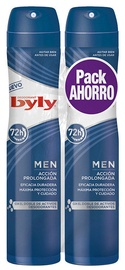 Byly Men Deodorant Spray 2x200ml