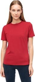 Audimas Womens Stretch Cotton T-shirt Rio Red L