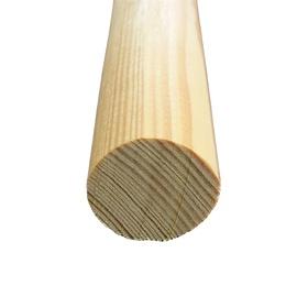 Деревянный брусок Wooden Beam Round 28x28x2400mm Pine