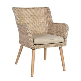 Home4you Retro Garden Chair Natural Rattan
